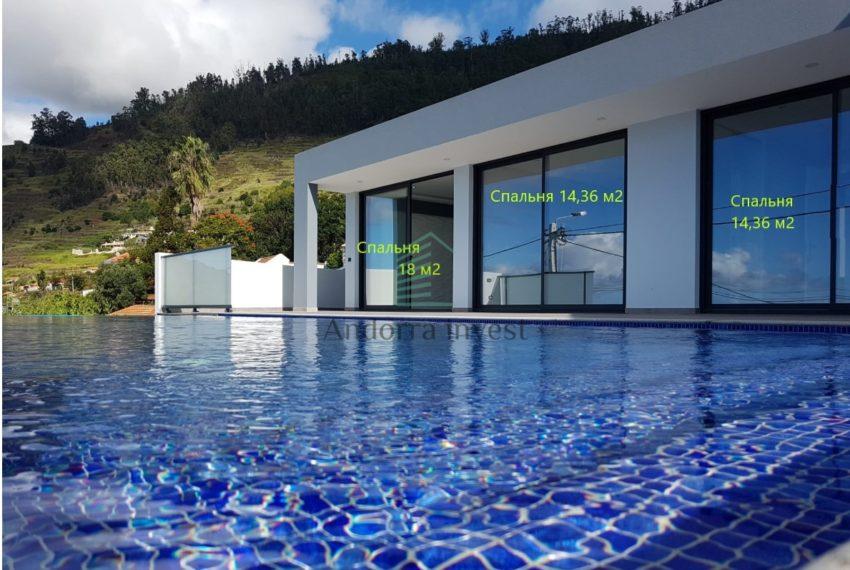 бассейн+спальни