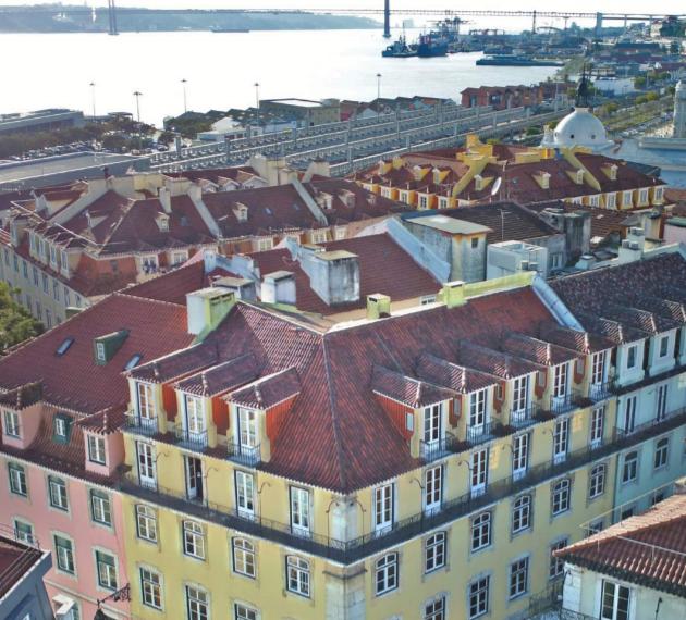 Квартира в Лиссабоне рядом с Розовой улицей